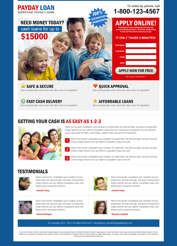 payday cash loan converting landing page design to capture leads for your payday cash loan business conversion from https://www.buylandingpagedesign.com/buy/super-fast-payday-loan-creative-lead-capture-squeeze-page-design/300