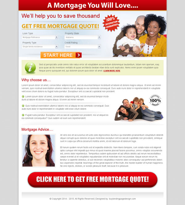 Landing page design templates for sale at discounted price for Free lead capture page templates