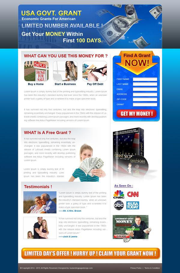 usa-govt-grants-lead-capture-landing-page-design-template-for-sale-029