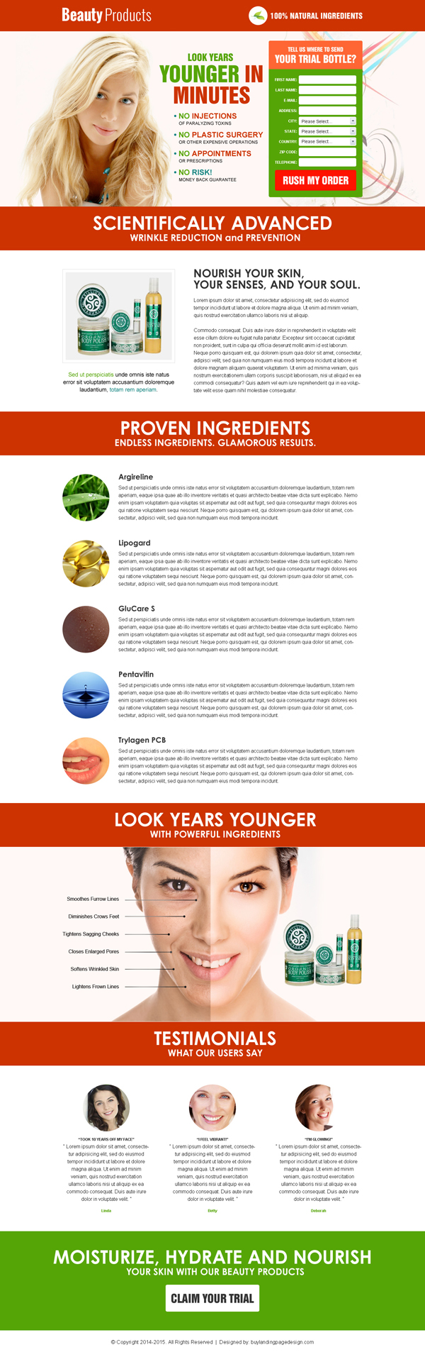 clean-beauty-product-lead-capture-converting-squeeze-page-design