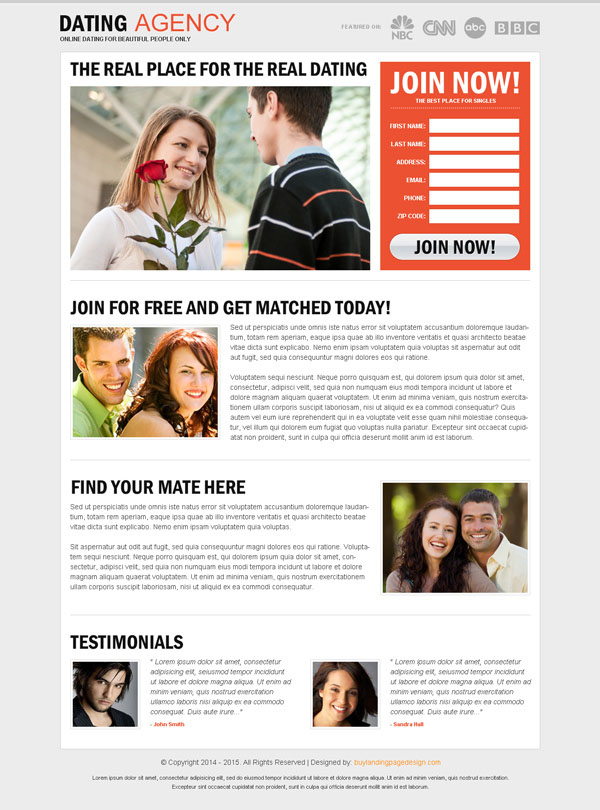 dating agency website design Cloudburst design studio is a web design & development interactive agency in lafayette, co creating incredible websites, logos & designs for small business & companies and non-profits.