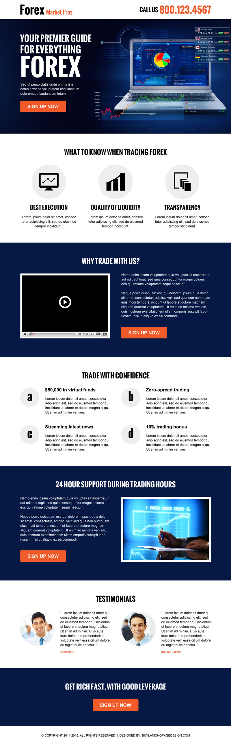 Purchase forex marketing guide landing page design to increase traffic and conversion of your forex business from https://www.buylandingpagedesign.com/buy/forex-marketing-guide-landing-page-design/1387