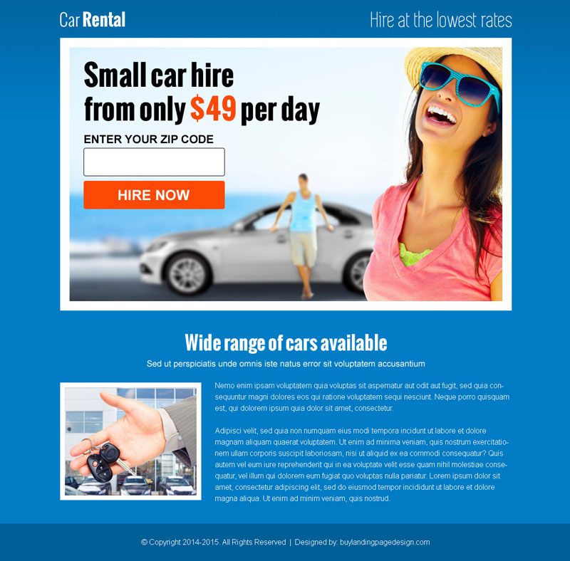 Rental Search Websites: Modern Landing Page Design Templates To Boost Your Leads