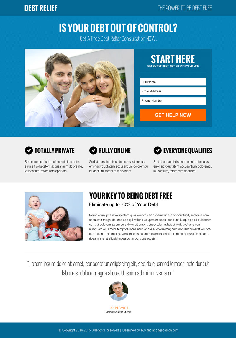 modern landing page design templates to boost your leads sales