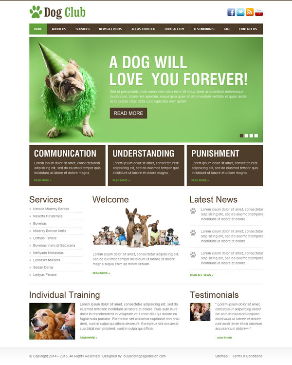 dog lovers club beautiful and clean html website template https://www.buylandingpagedesign.com/buy/dog-lovers-club-beautiful-and-clean-html-website-template/929