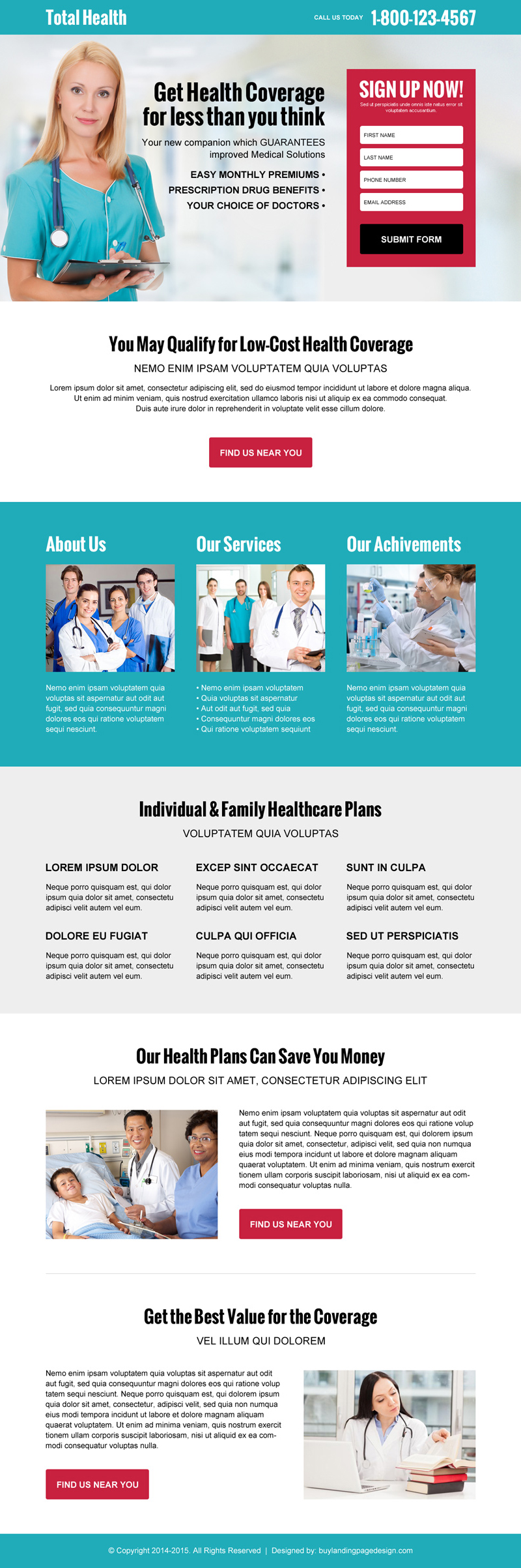 Best Landing Page Designs Trusted By Top Online Marketers - High converting landing page templates