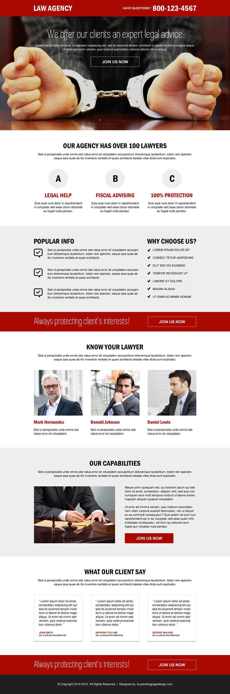 Best Landing Page Designs Trusted By Top Online Marketers - Buy landing page template