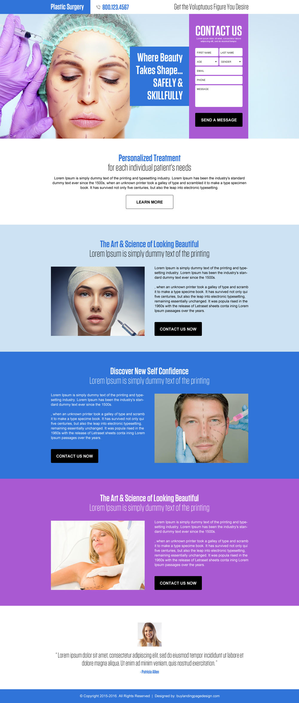 plastic-surgery-business-service-lead-generation-landing-page-design-001
