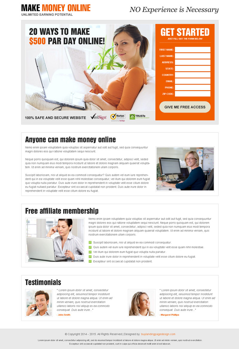 best-make-money-online-lead-capture-responsive-landing-page-design-template-003
