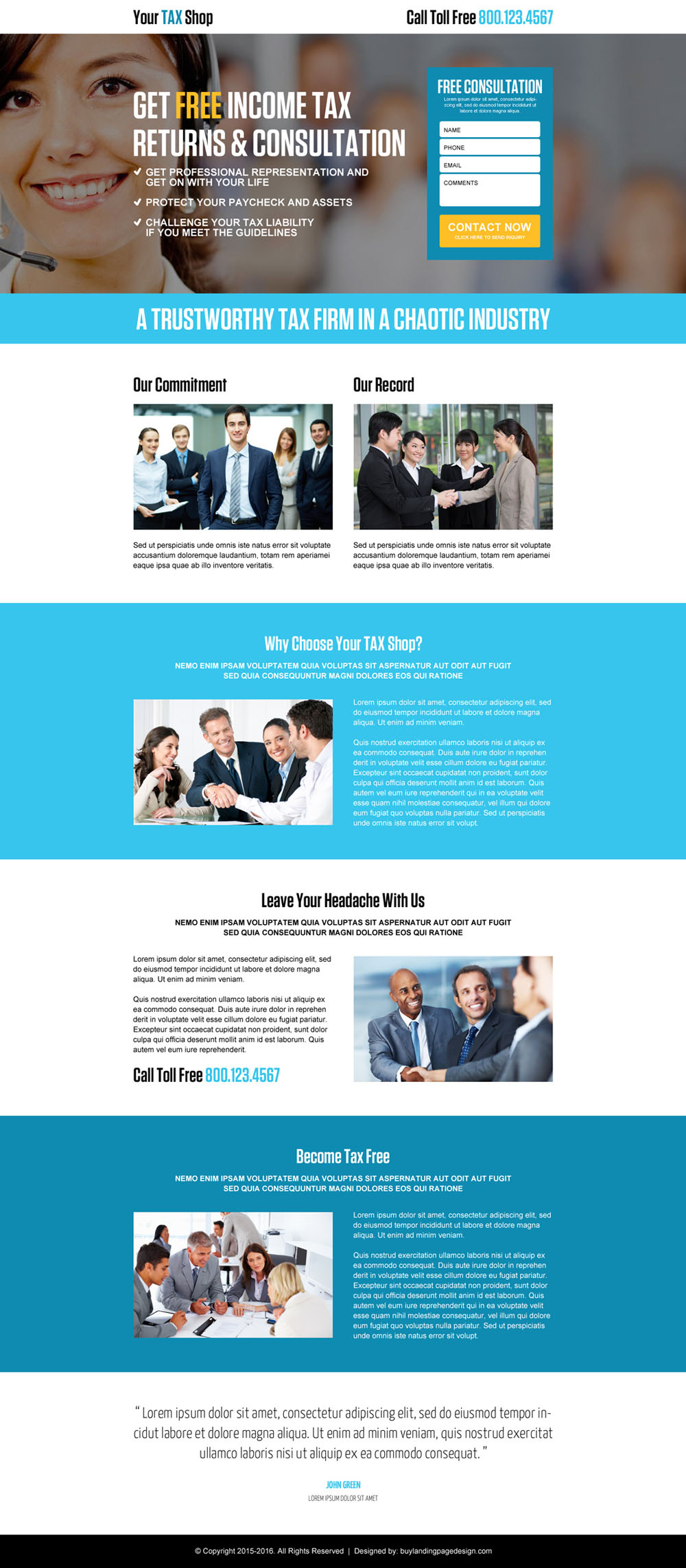 income-tax-return-free-consultation-lead-generation-landing-page-design-001