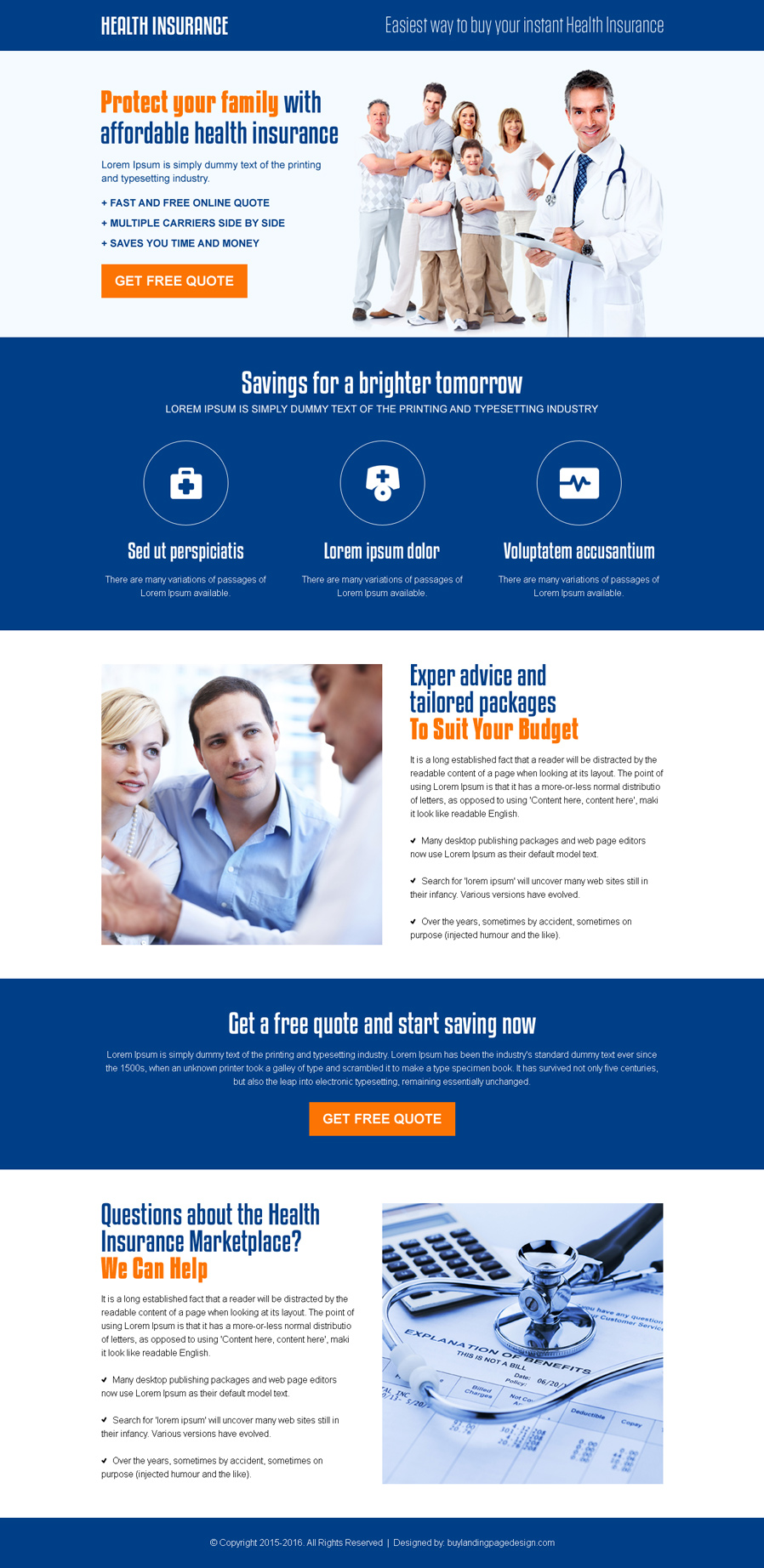 best-health-insurance-on-affordable-price-for-family-cta-landing-page-002
