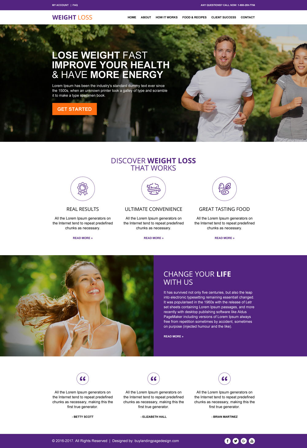 best-weight-loss-html-website-template-to-create-professional-weight-loss-website-001