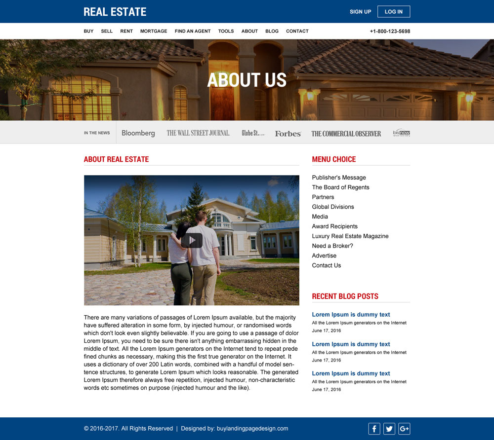 Best real estate website designs to create your online