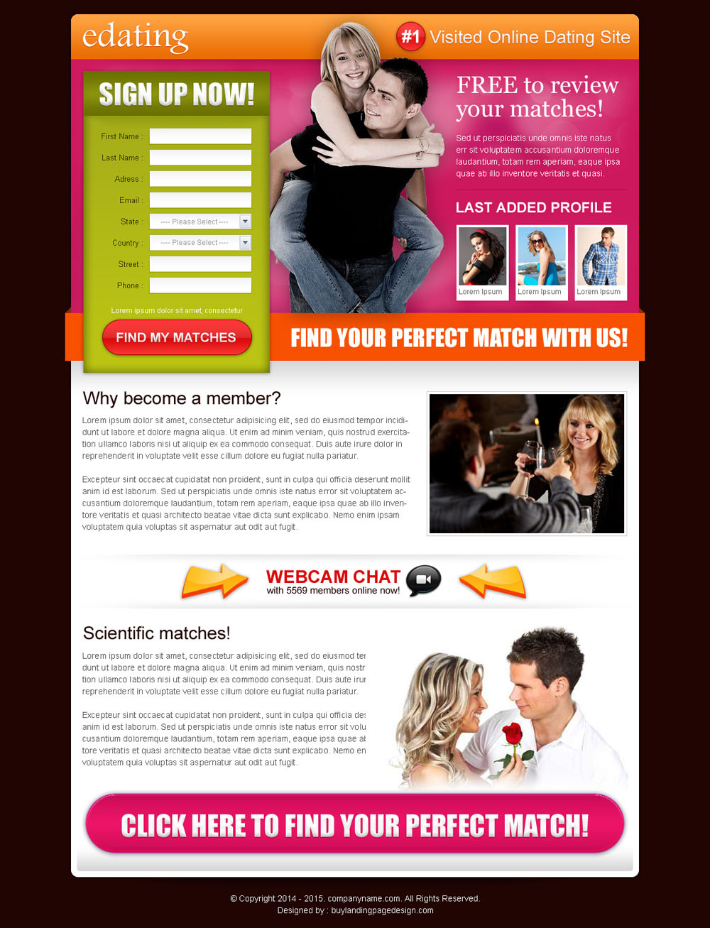 online dating leads