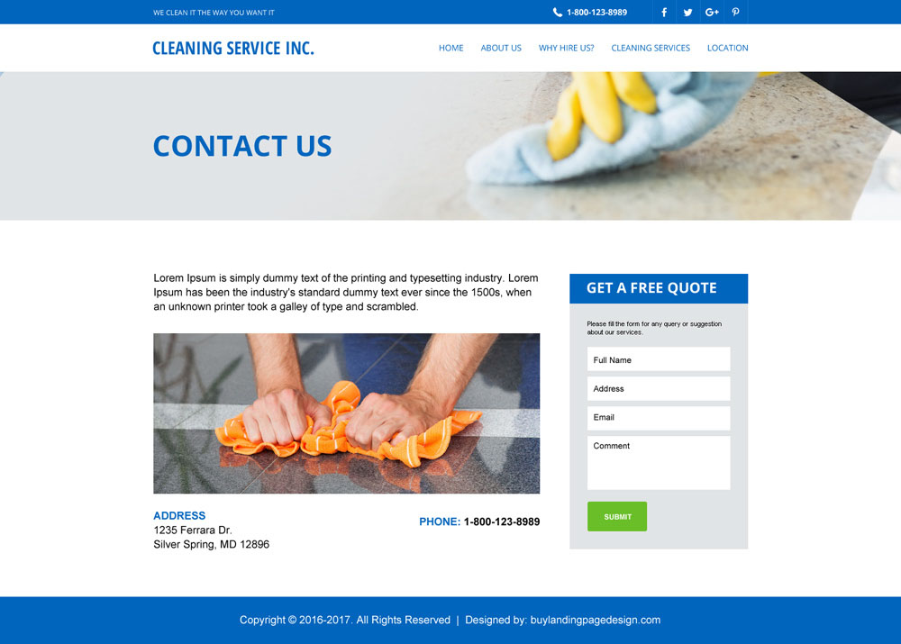 Effective website template to create your online presence for Website layout creator