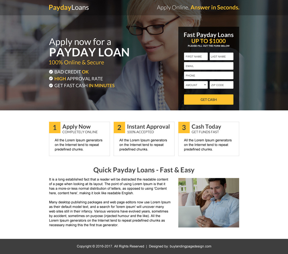 High quality mini landing page designs for your business conversion - BUYLPDESIGN Blog