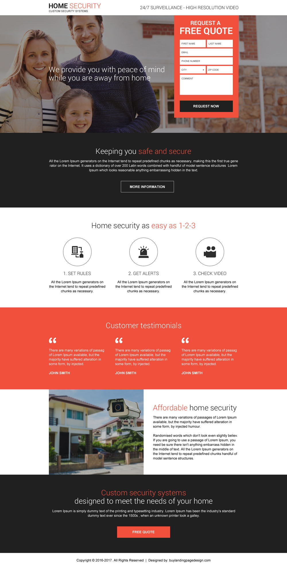 Lead Capture Security Landing Page Buylpdesign Blog