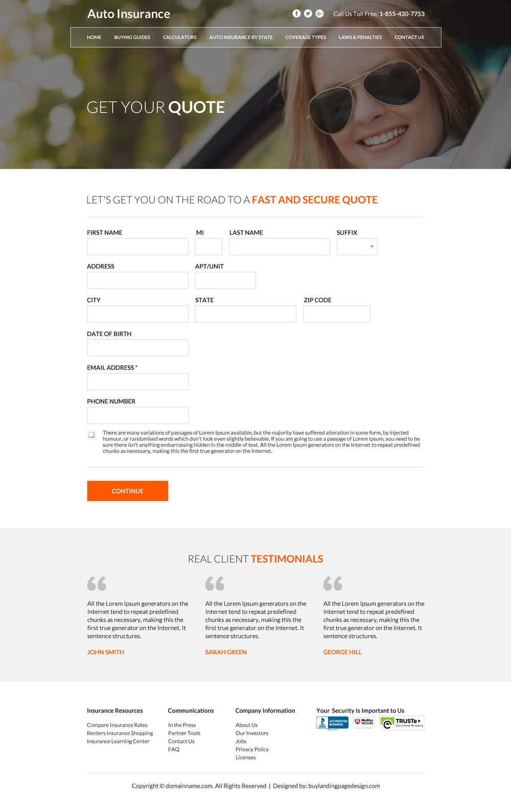 free credit application form template