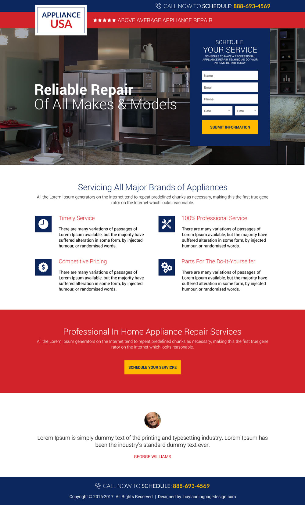 5 Appliance Repair Landing Page Design To Capture Leads