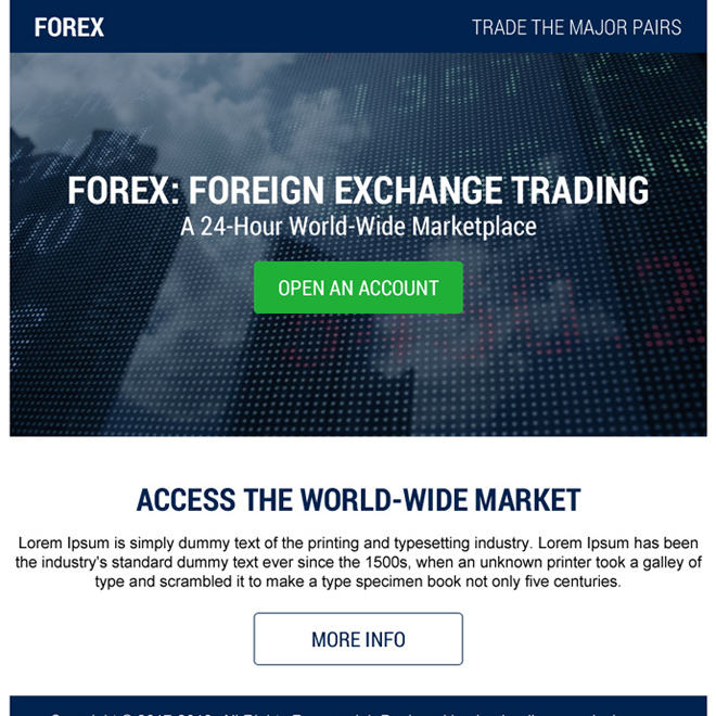 best foreign exchange trading ppv landing page Forex Trading example