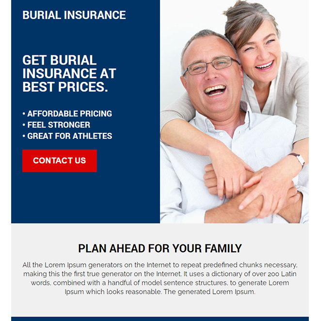 get burial insurance at best prices ppv design Burial Insurance example