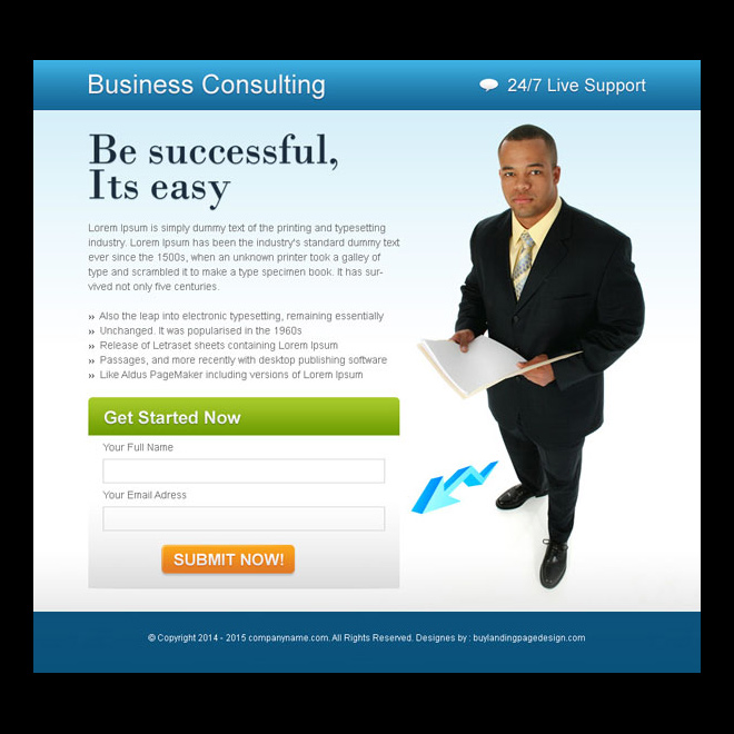 business opportunity lead capture ppv landing page PPV Landing Page example