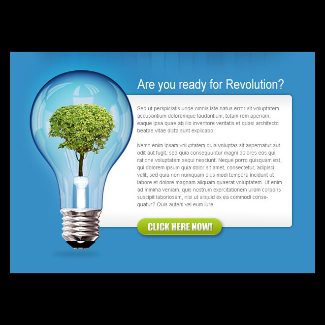 business revolution converting ppv landing page design PPV Landing Page example