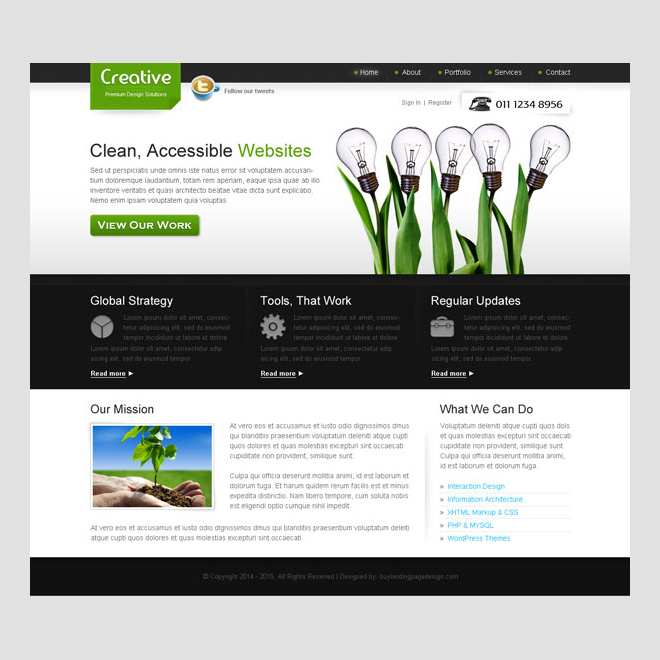 creative website template design free software and