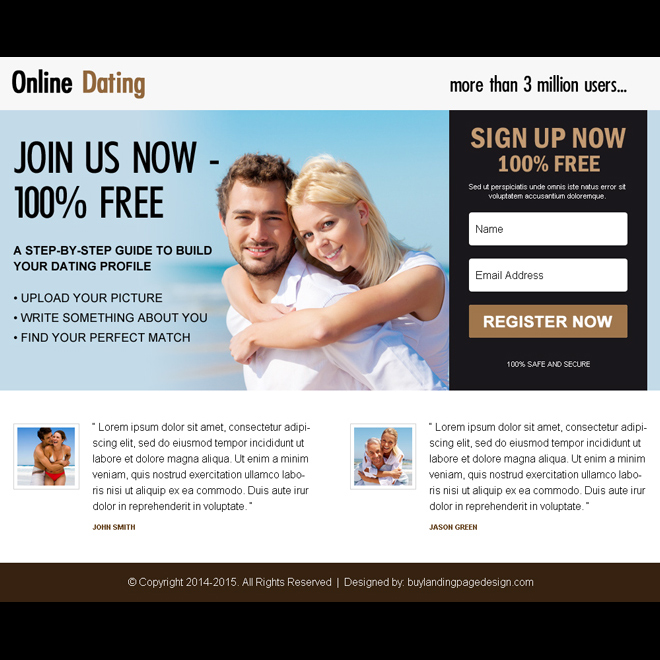 Boyfriend signed up for dating website