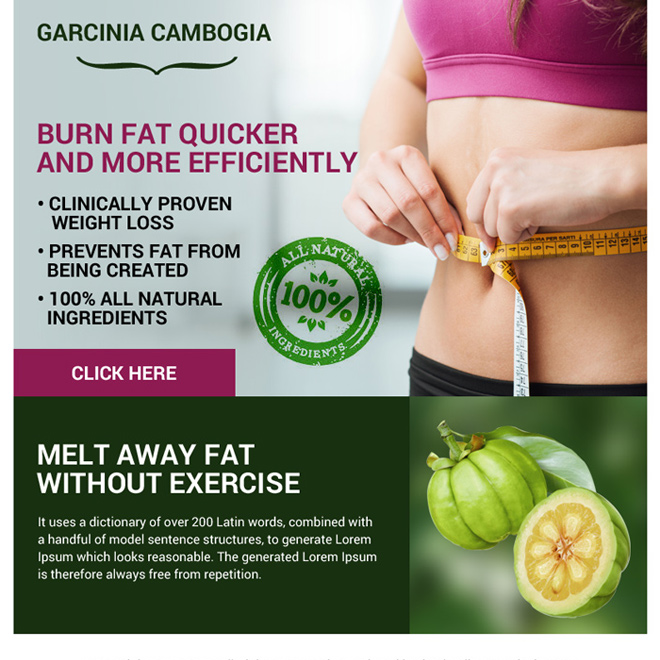 garcinia cambogia weight loss ppv landing page design Weight Loss example