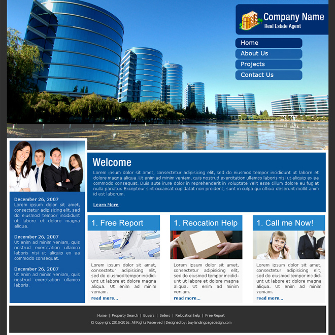 industrial website template design psd for sale Website Template PSD example