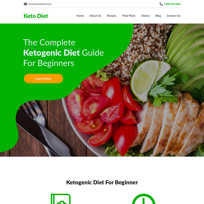 keto diet best weight loss responsive website design Weight Loss example