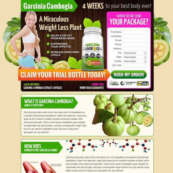 Garcinia Cambogia Lead Capture LP