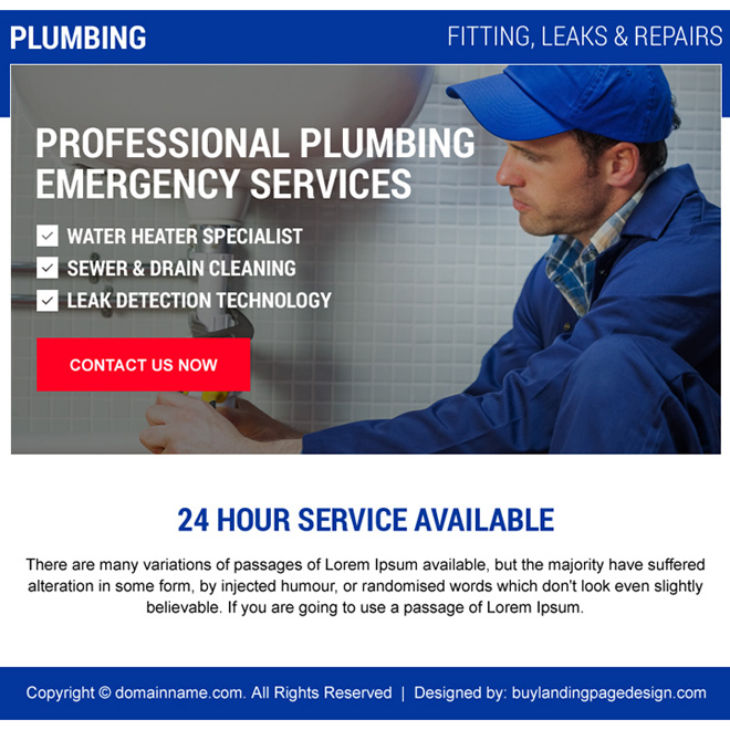 effective emergency plumbing services ppv design Plumbing example