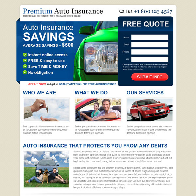 Automobile Insurance Quotes Online The Easiest Way To Compare And Save