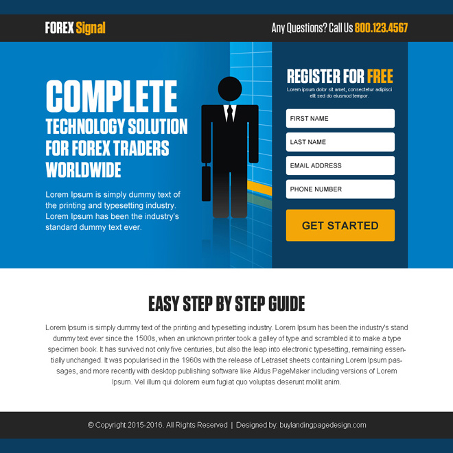 technology solution for forex trading ppv landing page Forex Trading example