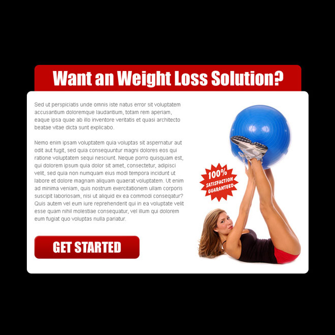 weight loss solution attractive and creative ppv landing page design Weight Loss example