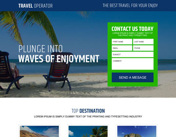 hair removal treatment lead capturing landing pages