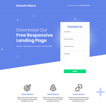 download lead capture free landing page design