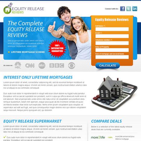 custom landing page design service portfolio