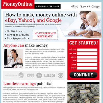 make money online with google, yahoo and ebay