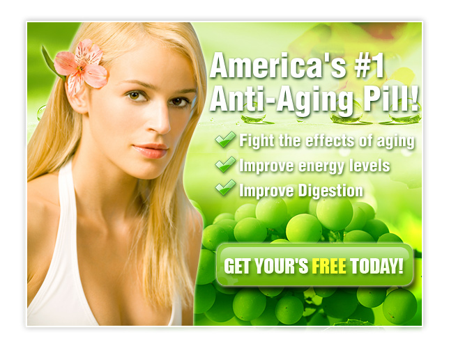 anti ageing pill