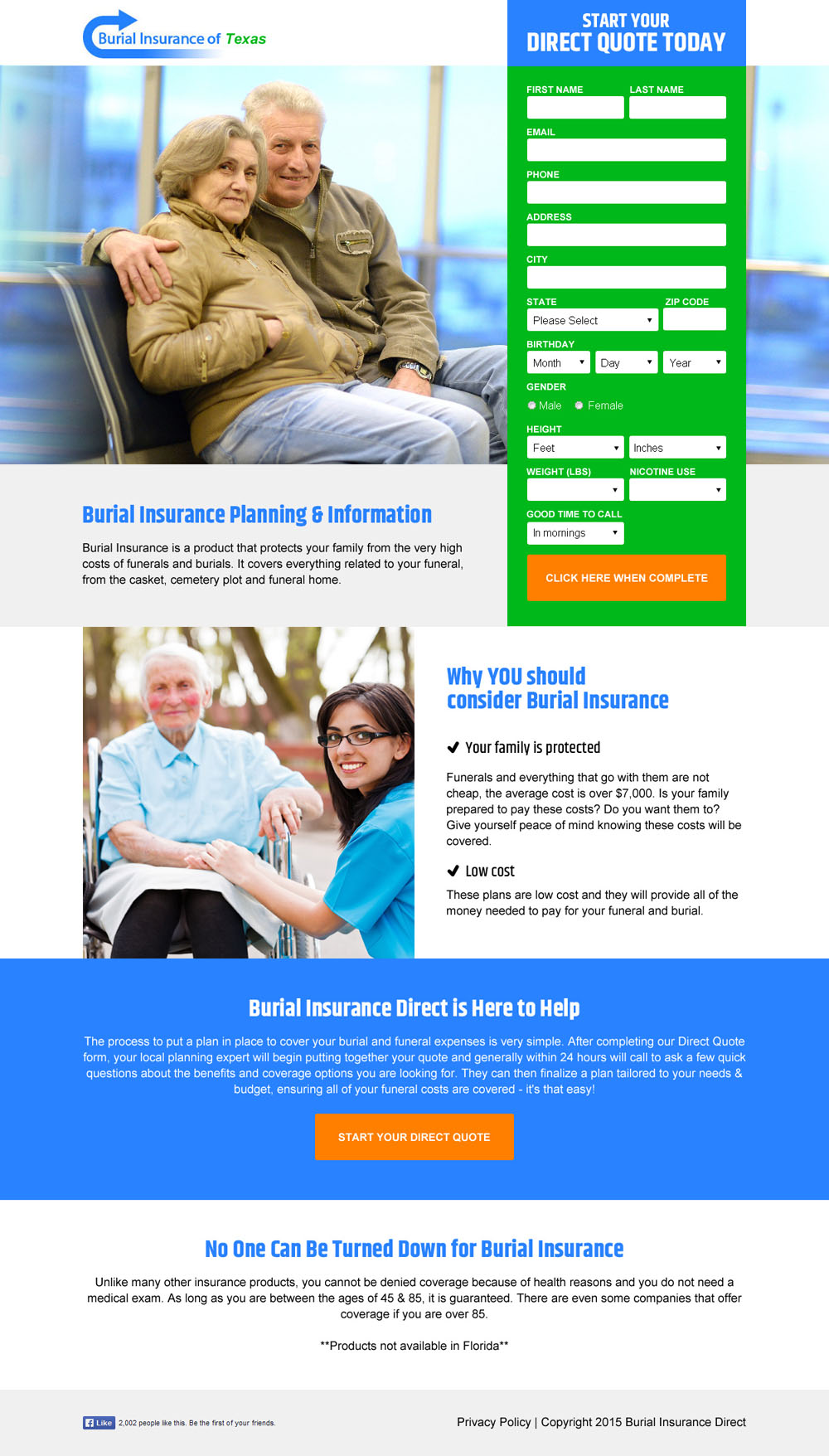 burial insurance texas