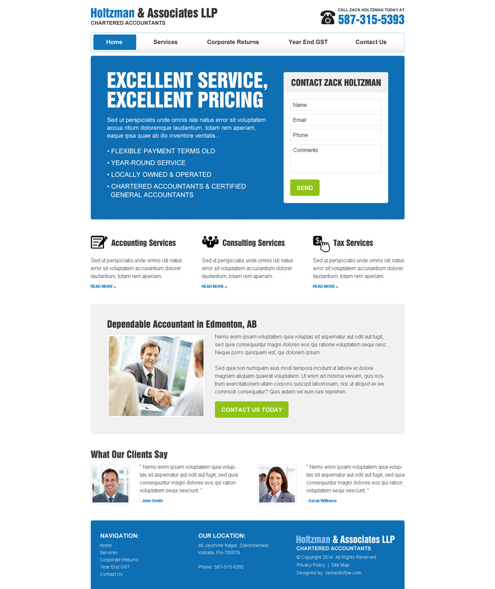 consulting and tax services