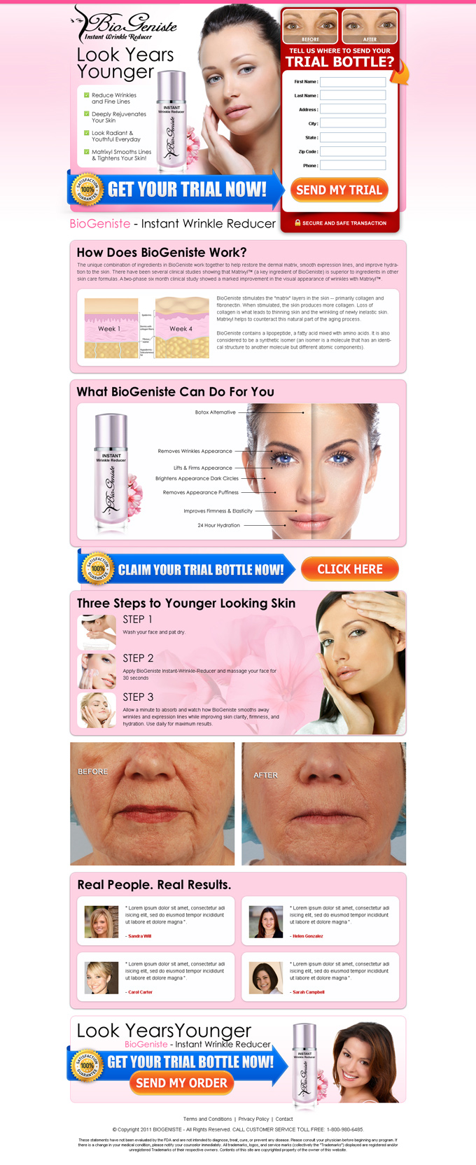 instant wrinkle reducer trial