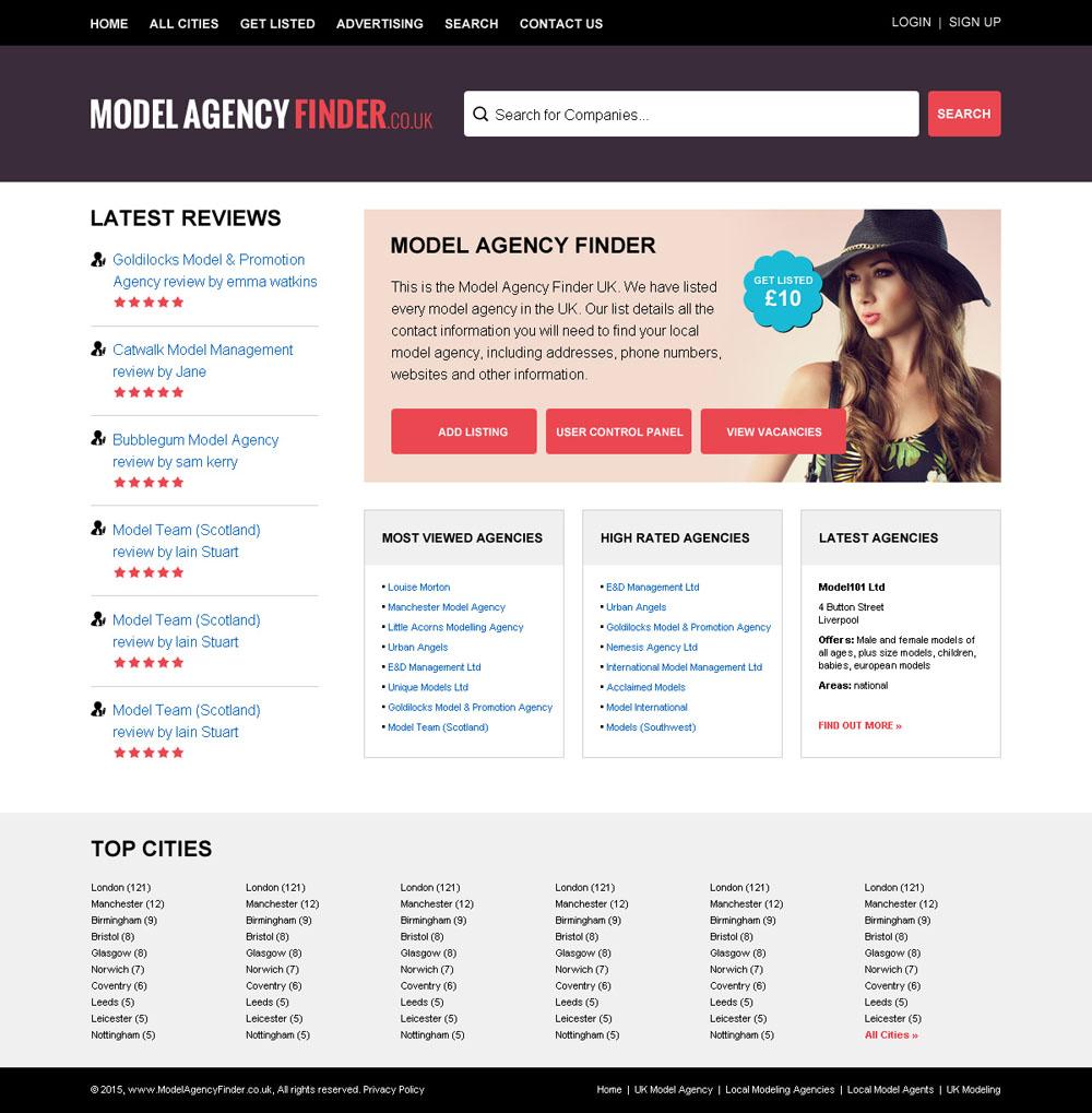 model agency finder