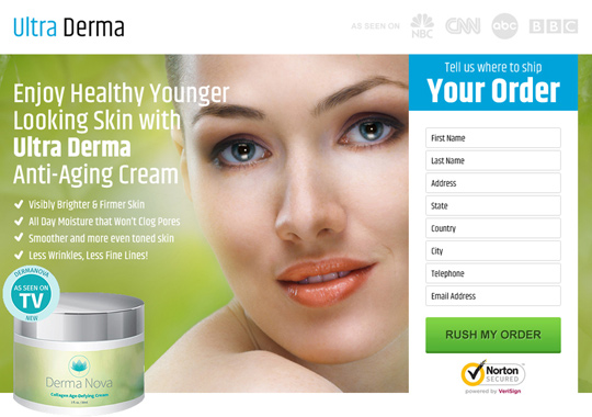 anti ageing cream  example