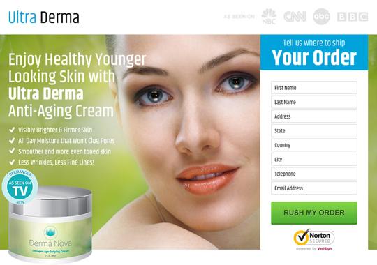 anti ageing cream  example