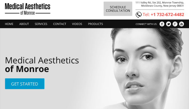 medical aesthetics of monroe  example