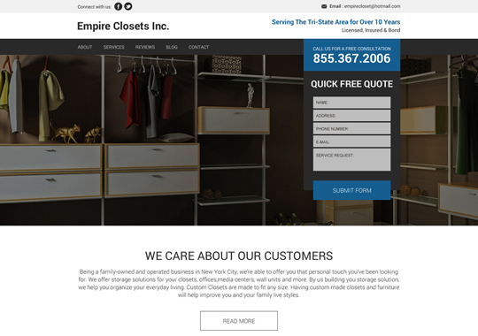 empire closets  example